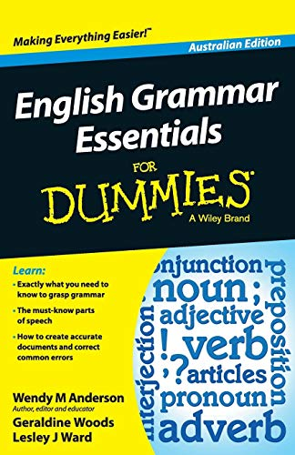 9781118493311: English Grammar Essentials for Dummies (Australian Edition)