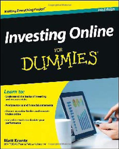 9781118495360: Investing Online For Dummies