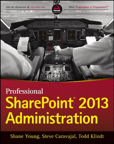 9781118495810: Professional SharePoint 2013 Administration (Wrox Programmer to Programmer)