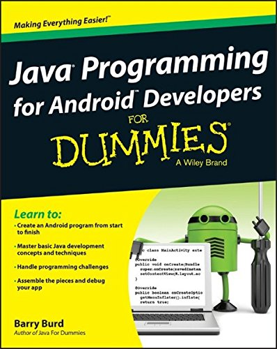 9781118504383: Java Programming for Android Developers for Dummies (For Dummies (Computers))
