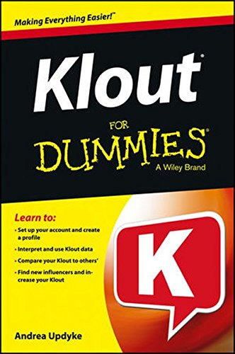 9781118505373: Klout For Dummies