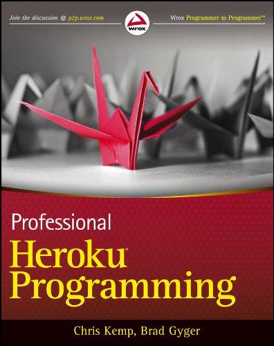 9781118508992: Professional Heroku Programming