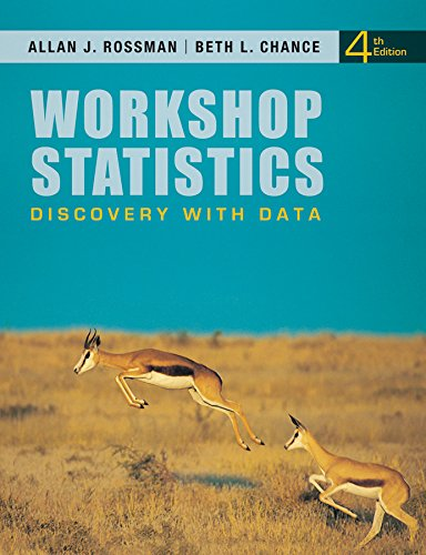 9781118515969: Workshop Statistics: Discovery with Data 4e + WileyPLUS Registration Card