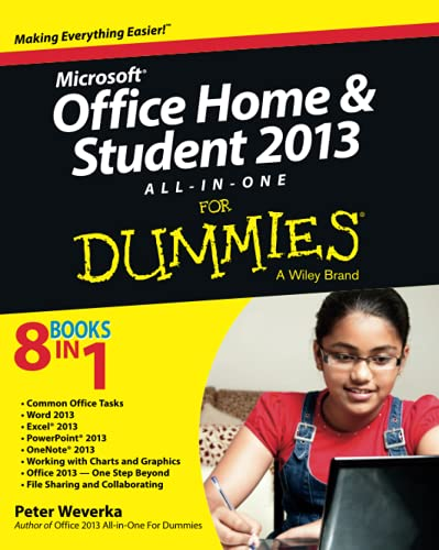 9781118516379: Microsoft Office Home and Student Edition 2013 All-in-One For Dummies