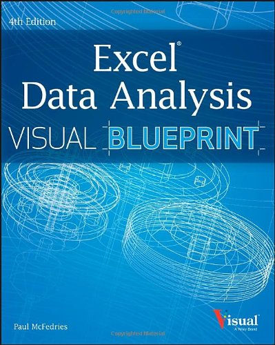 9781118517147: Excel Data Analysis: Your visual blueprint for analyzing data, charts, and PivotTables