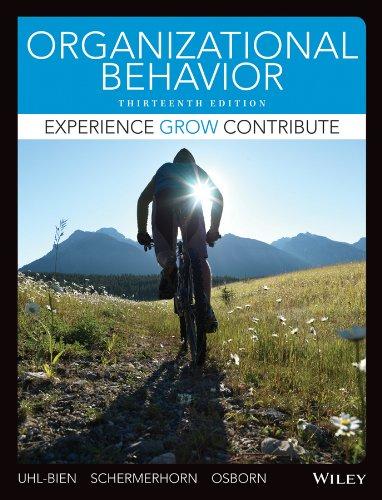 Organizational Behavior: Mary Uhl-Bien