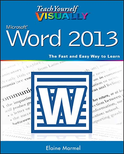 9781118517697: Teach Yourself VISUALLY Word 2013