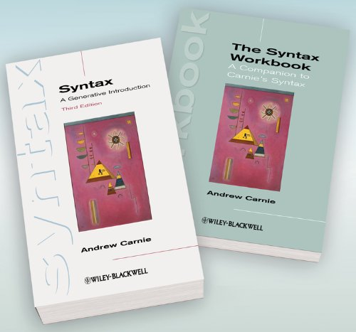 Syntax: A Generative Introduction 3rd Edition and The Syntax Workbook Set (Paperback): Andrew ...