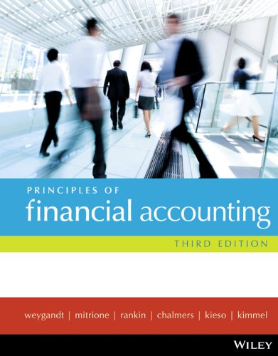 Principles of Financial Accounting + Wileyplus/Istudy Version 1 Registration Card: Jerry J. ...