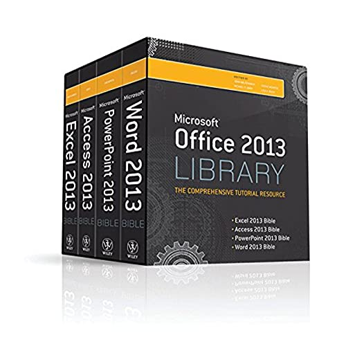 9781118522943: Office 2013 Library Excel 2013 Bible, Access 2013 Bible, PowerPoint 2013 Bible, Word 2013 Bible
