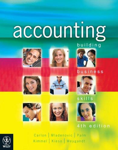 Accounting Building Business Skills 4E + Wileyplus/Istudy Version 1: Carlon