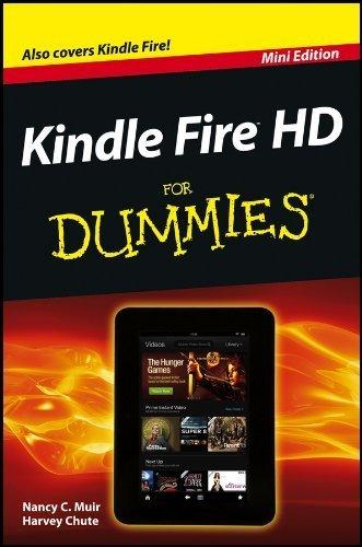 9781118530719: (Mini Edition) Kindle Fire HD FOR DUMMIES (Mini Edition)