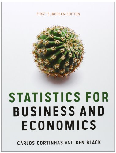 Statistics for Business and Economics: First European Edition WileyPLUS Book/Card Set (Mixed ...