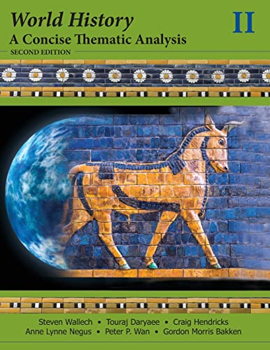 9781118532720: 2: World History: A Concise Thematic Analysis, Volume Two