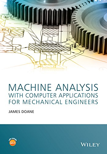 9781118541340: Machine Analysis with Computer Applications: For Mechanical Engineers