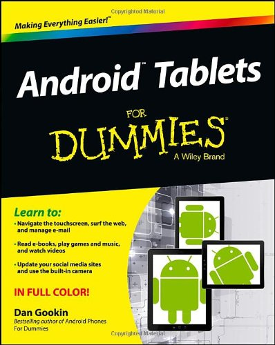 9781118543191: Android Tablets For Dummies