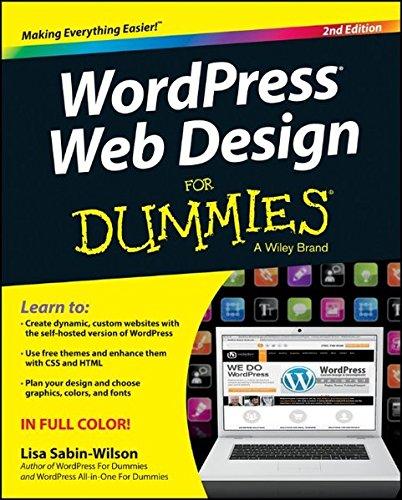 WordPress Web Design For Dummies: Sabin-Wilson, Lisa