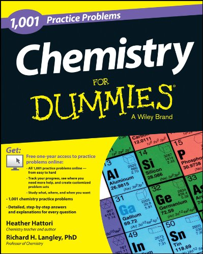 9781118549322: Chemistry: 1,001 Practice Problems For Dummies (+ Free Online Practice)