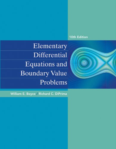 9781118552261: Elementary Differential Equations and Boundary Value Problems 10e + WileyPLUS Registration Card