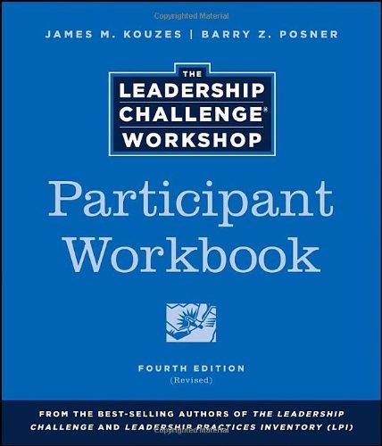 9781118552827: The Leadership Challenge Workshop, Participant Workbook