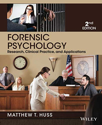 Forensic Psychology: Huss, Matthew T.