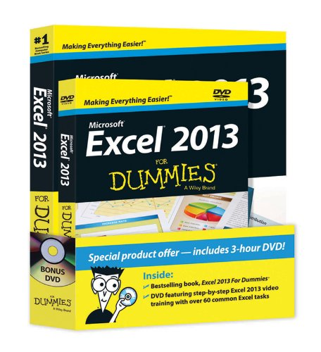 9781118559802: Excel 2013 For Dummies, Book + DVD Bundle