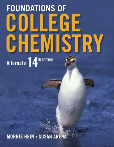 9781118562475: Foundations of College Chemistry 14e + WileyPLUS Registration Card