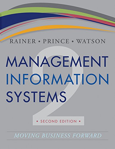 9781118566176: Management Information Systems 2e + WileyPLUS Registration Card