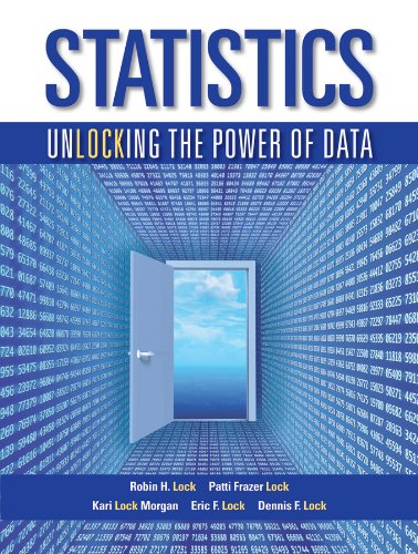 Statistics: Unlocking the Power of Data 1e: Patti Frazer Lock;