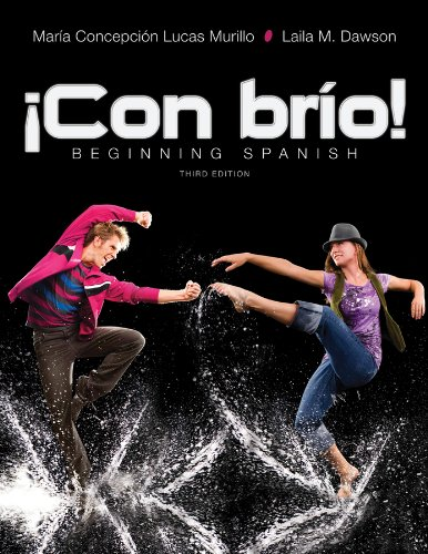 9781118566329: Con brio: Beginning Spanish 3e + WileyPLUS Registration Card