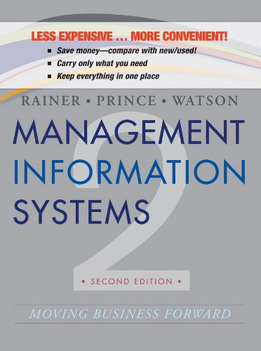 9781118566695: Management Information Systems 2e Binder Ready Version + WileyPLUS Registration Card