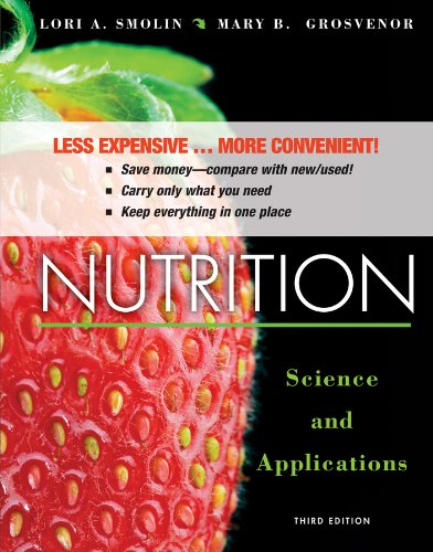 9781118566794: Nutrition: Science and Applications 3e Binder Ready Version + WileyPLUS Registration Card