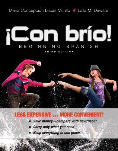 9781118568804: Con brio! 3e Binder Ready Version + WileyPLUS Registration Card