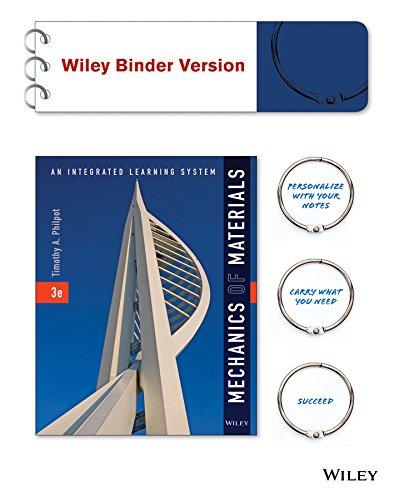 Mechanics of Materials, Binder Ready Version: An: Philpot, Timothy A.