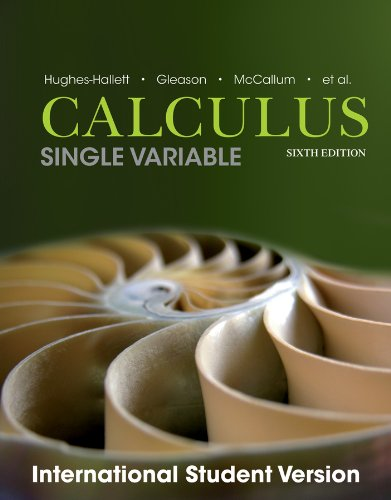 9781118572160: Calculus Single Variable, Sixth Edition International Student Version