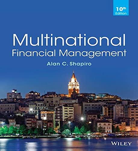 Multinational Financial Management: Alan C. Shapiro