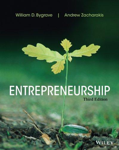 Entrepreneurship: Bygrave, William D.;