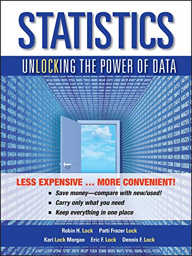 Statistics, Binder Ready Version: Unlocking the Power: Lock, Robin H.;