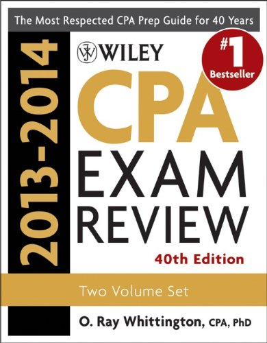 Wiley CPA Examination Review 2013-2014, Set: O. Ray Whittington