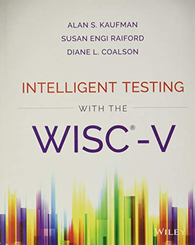 9781118589236: Intelligent Testing with the WISC-V