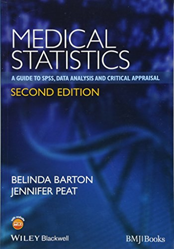 9781118589939: Medical Statistics: A Guide to SPSS, Data Analysis and Critical Appraisal