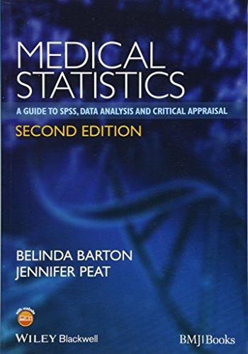 Medical Statistics: A Guide to SPSS, Data: Belinda Barton