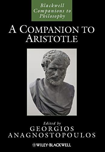 9781118592434: A Companion to Aristotle