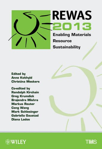 9781118605875: REWAS 2013 Enabling Materials Resource Sustainability