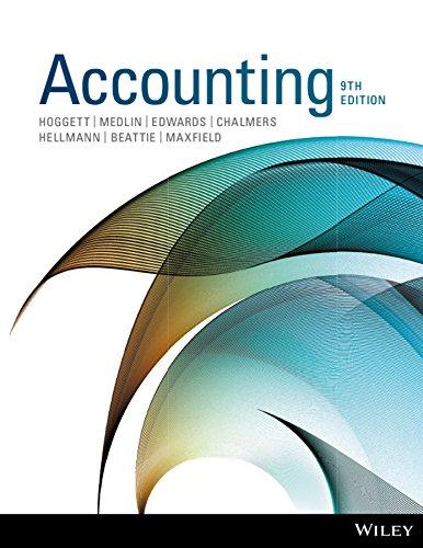 Accounting 9e (soft edition): Hoggett, John; Edwards,