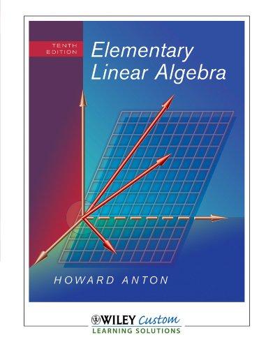 9781118611012: Elementary Linear Algebra