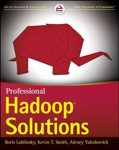 Professional Hadoop Solutions: Alexey Yakubovich; Kevin