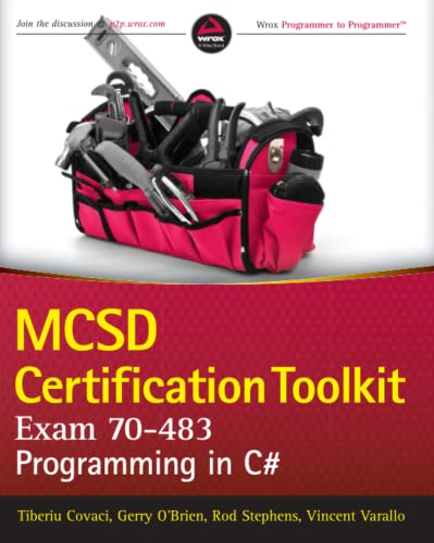 9781118612095: MCSD Certification Toolkit (Exam 70-483): Programming in C#-