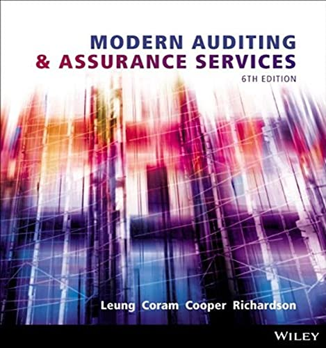 Modern Auditing and Assurance Services: Philomena Leung, Paul