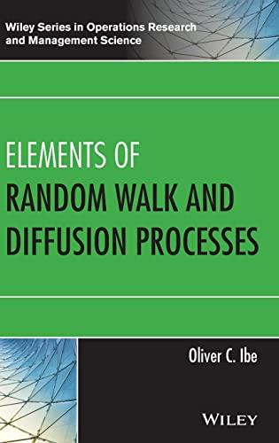 9781118618097: Elements of Random Walk and Diffusion Processes